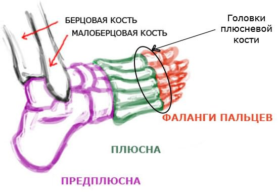 Vaikeste liigendite artriit jalgsi