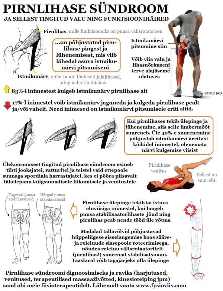 Mis Oys liigesed ja lihased Pirramine valu liigestes