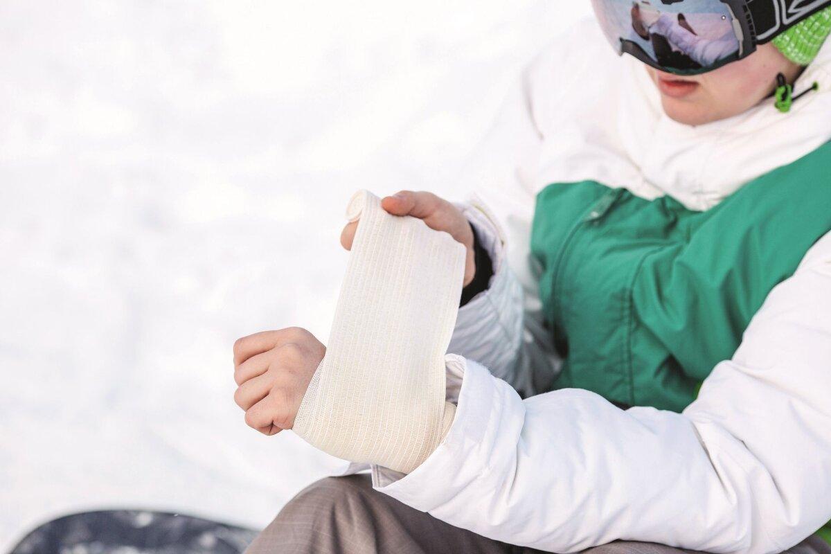 Ahvatlemine suure sorme kaes parast vigastust piima liigeste poletik