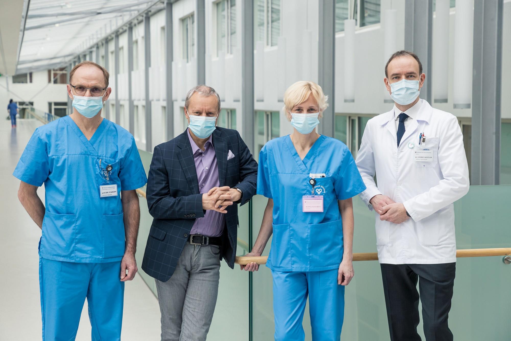 Valmistamine jalgade liigeste anesteesia jaoks Kaed olaliigendid