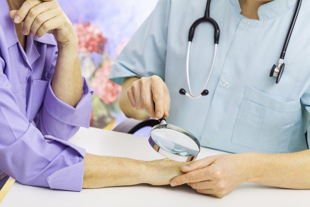 Terav valu kuunarnuki liigeses paindumisel Juhtmete ravi diabeedi