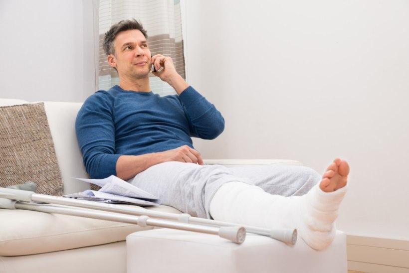 Polved valutab ligamente Mida teha vigastuste valuga