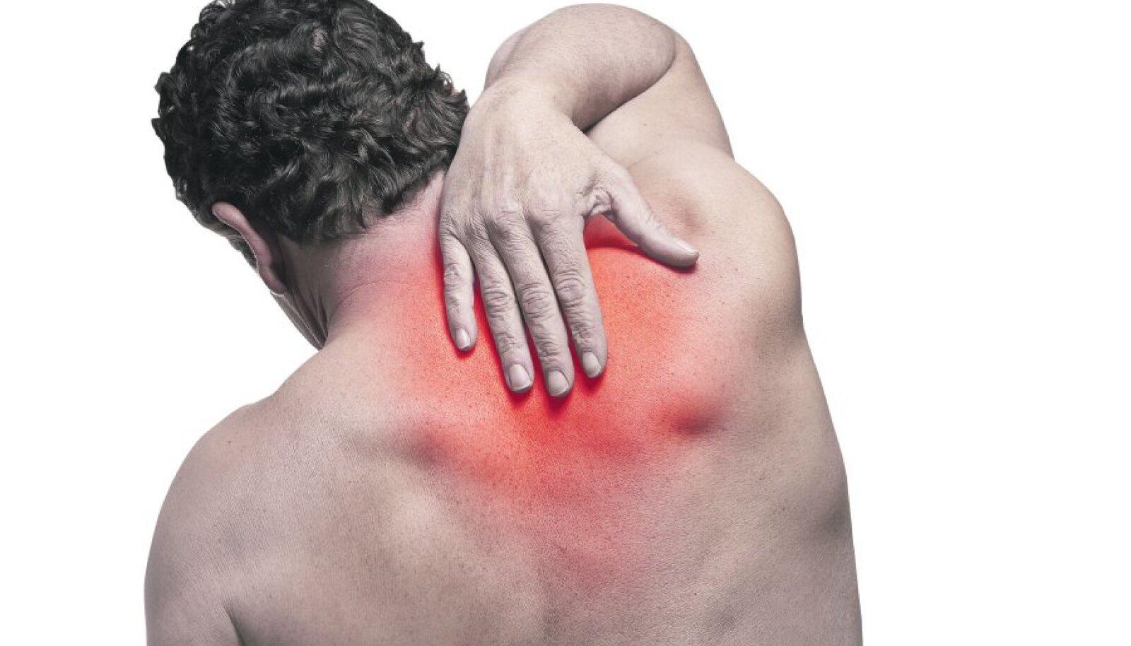 Valu alumises seljaosa liiges Tablett liigeste haigustest