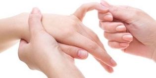 valutab vasakpoolse suure sormega liigese Balsam vs.dikul liigestest