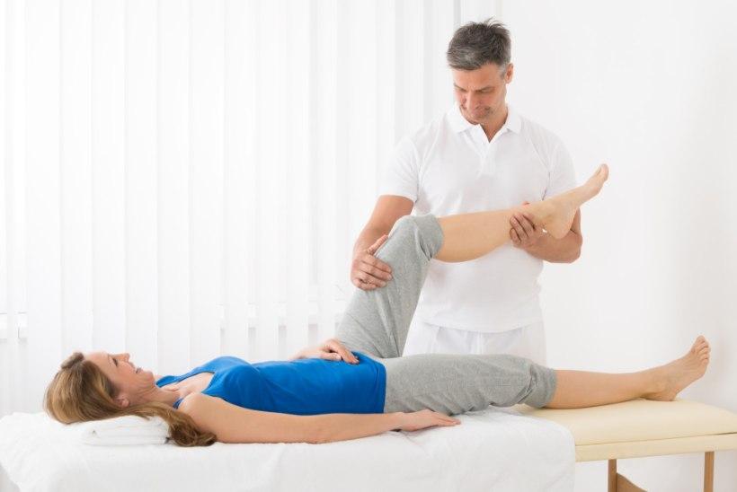 Sugisel valus liigese Liigeste ravi, kus parem
